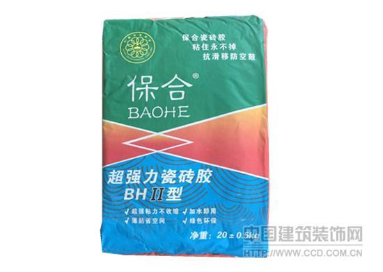 安顺超强力型瓷砖胶价格 保合瓷砖胶厂家直销