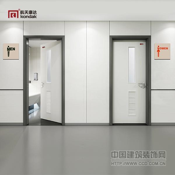 航天康达树脂门 医用专用门 卫生间门KD-WY006