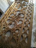 铝板浮雕屏风