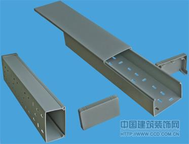 PVC走线槽,电力电信布线槽定制