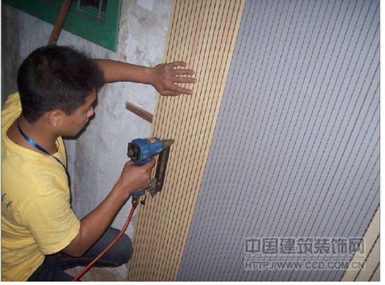 穿孔木质吸音板ktv槽木吸音板装饰墙面隔