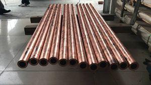 T2空心薄壁紫铜管 空调紫铜盘管