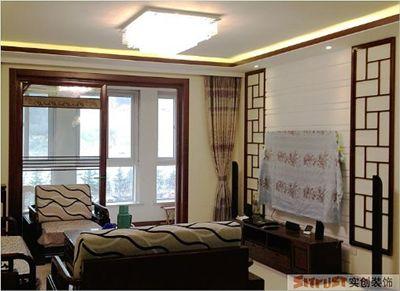 三居室137平新中式装修案例