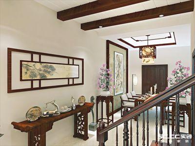 """德郡小区别墅175平,新中式装修打造一个""""书香门第"""""""