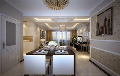 三居室140平现代简约风格,10万起