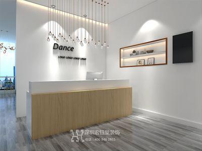 郑州培训机构装修公司-少儿舞蹈培训设计