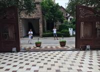 重庆高端别墅平移对开大门智能门机