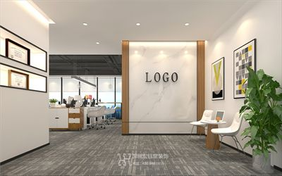 郑州办公室装修-恒天明泽办公室装修效果图