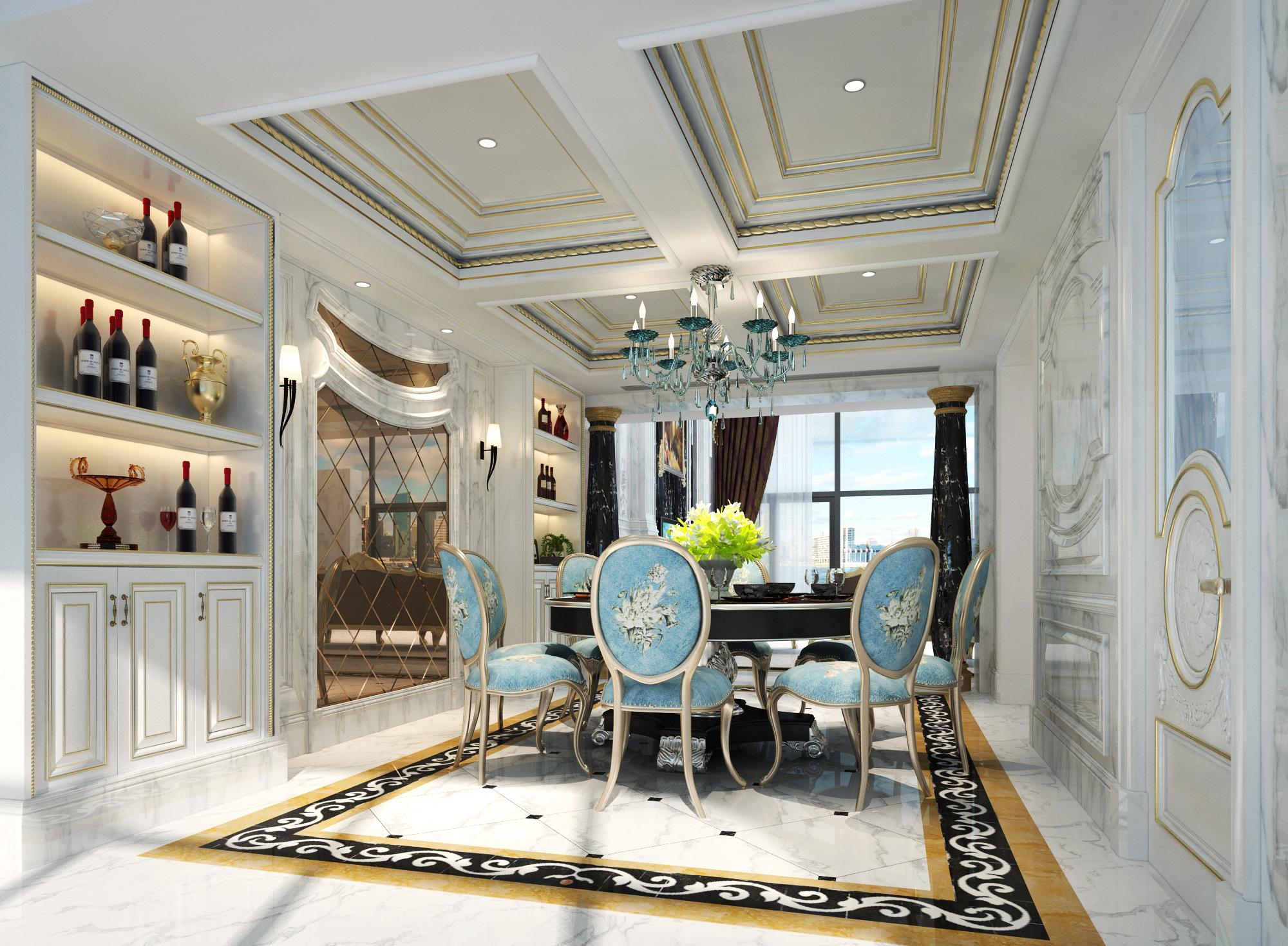 别墅室内装修设计效果图