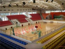 北流 专业体育木地板厂家 篮球木地板施工安装