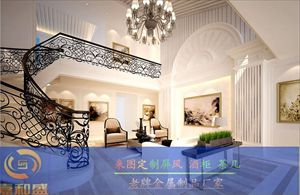 高端酒店装饰工程 拉丝玫瑰金屏风花格制品