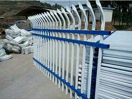三横梁喷塑锌钢护栏围墙护栏花园围栏