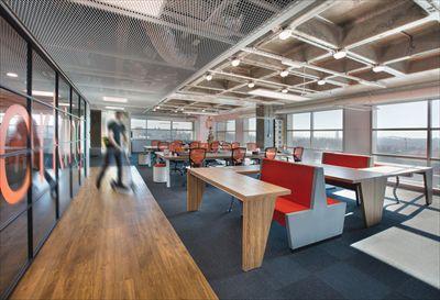 成都金融型办公室装修效果图