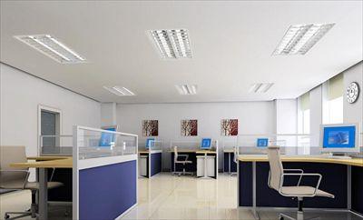 【时来运转空间设计】办公室装修效果图