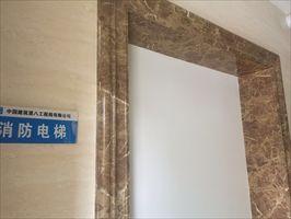包电梯口门套线条_石塑电梯门套