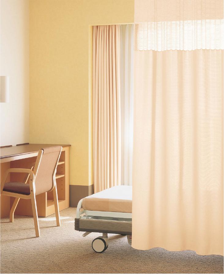 供应日本进口丽彩医用窗帘遮光窗纱 LC-25018