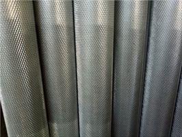 滚花拉花铝棒铝管 6063T5网纹拉花铝棒