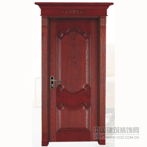 中式竹木门