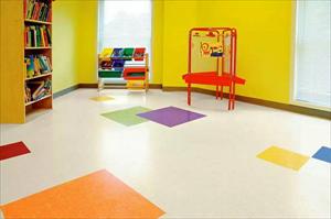 PVC儿童地胶  幼儿园地面设计图片