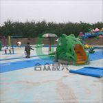 室外戏水乐园使用泳池胶膜改造翻新