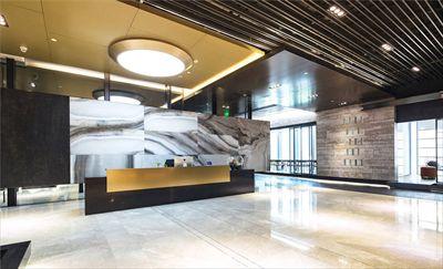 【时来运转空间设计】办公楼装修图