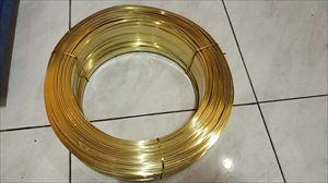 H62半硬拉链黄铜线 H65全软黄铜线