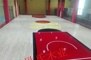 广西北流篮球馆木地板价格