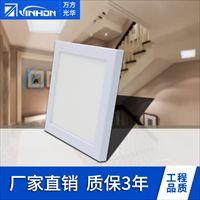18W吸顶灯 LED雷达感应面板灯 18W方形微波感应面板灯