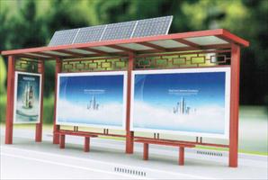 微光政务候车亭,微光智能公交站台
