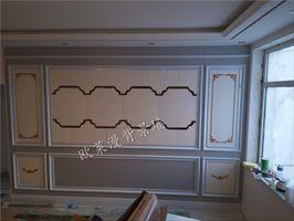 自从用了整体背景墙板,装修难题全解决啦!
