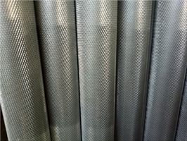 厚壁滚花铝棒 6061T6硬质氧化加工铝棒