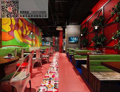 郑州海鲜餐厅装修设计公司案例