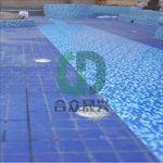 游泳池改造不破坏基础直接铺装筑迪泳池胶膜