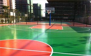 茂名弹性丙烯酸球场地坪价格 保合地坪包工包料