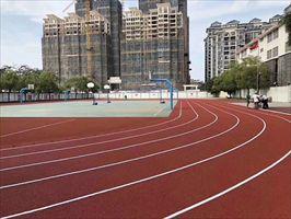 茂名塑胶跑道施工公司 保合塑胶跑道多少钱一平方