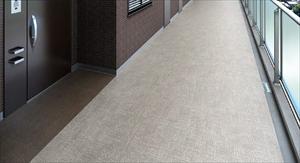 供应日本进口东理室外PVC地板 NS877