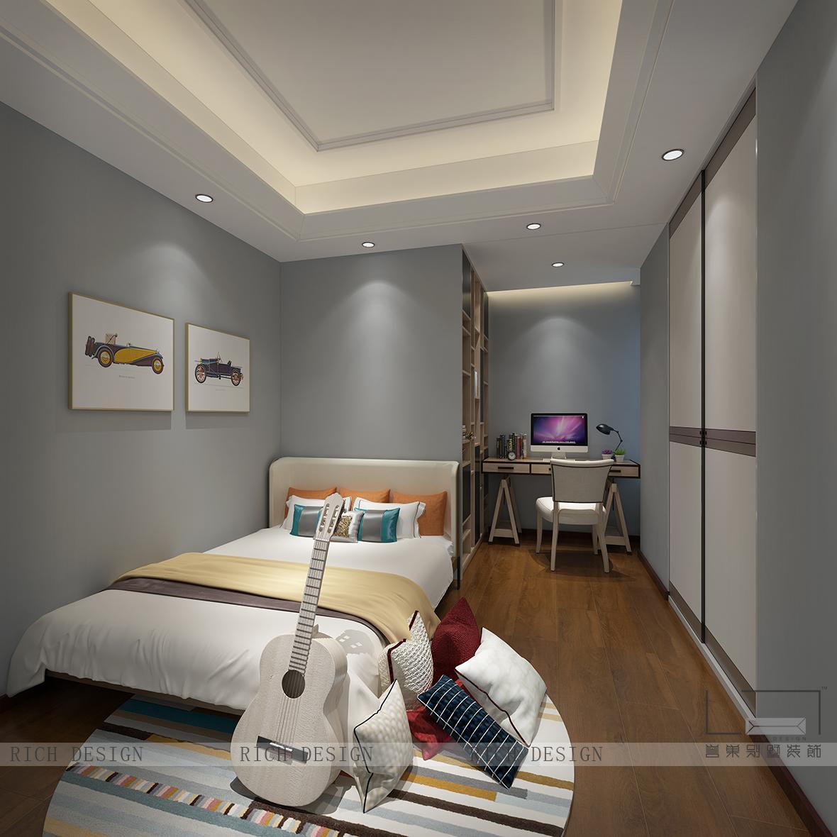 现代儿童卧室装修设计效果图