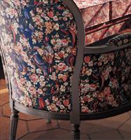 供应日本进口新科沙发布软包布椅子张 L-2001