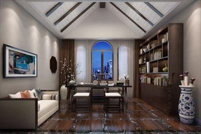 红酒会所新中式风格装修设计 |900平方