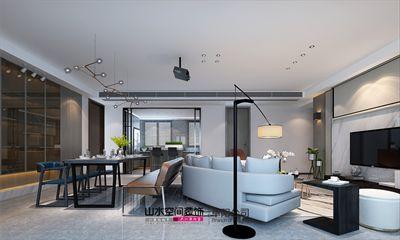 太和尚城一品160平米简约四居室设计