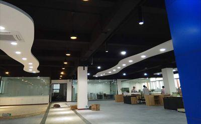 松江小昆山办公室装修|小昆山厂房装修效果