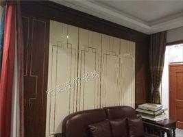 整体背景墙板 让家美丽与实用兼具