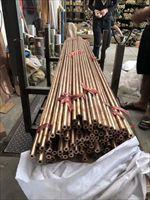 ZQSN555空心厚壁锡青铜管 实心青铜棒