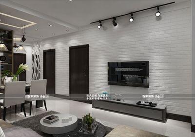 碧桂园银河城89平现代风格全包7万