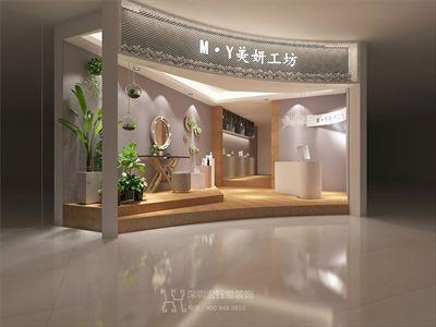 郑州商业空间装修公司-美妍工坊装修设计