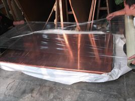 T2贴膜超薄紫铜板 可按尺寸剪板