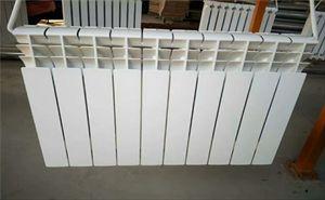 压铸铝双金属焊接散热器 新款家用压铸铝暖气片