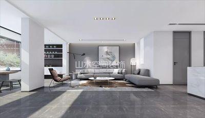 300平米极简别墅空间设计案例