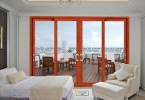 铝合金阳台门一体化完美解决方案 拓邦门窗