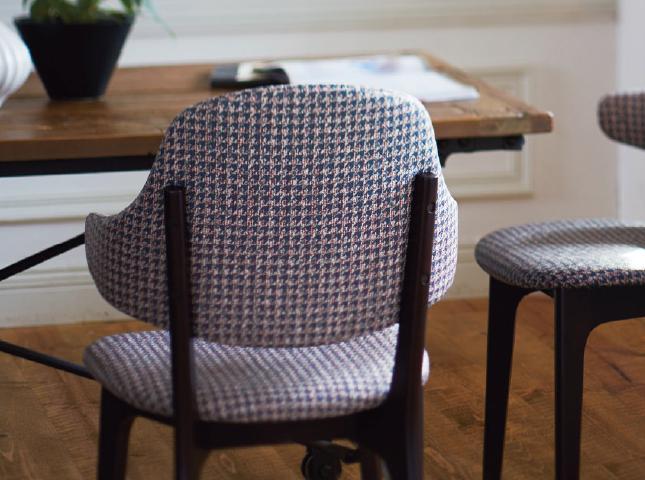 供应日本进口新科沙发布软包布椅子张L-2003